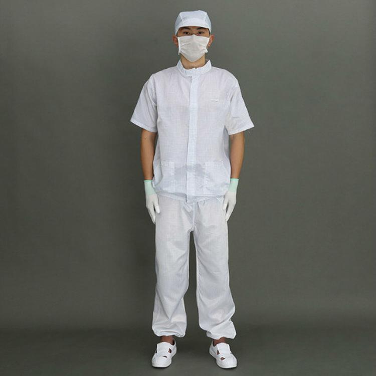 防静电短袖分体服